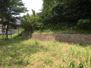 ハーフビルド木の家の測量調査